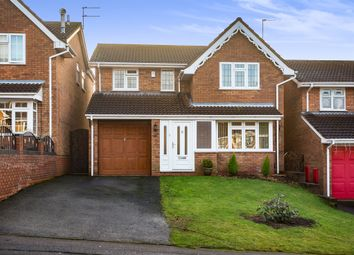 Thumbnail 4 bedroom detached house for sale in North View Drive, Brierley Hill