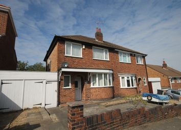 Thumbnail 3 bed semi-detached house for sale in Homemead Avenue, Leicester