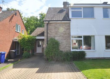 Thumbnail 3 bed semi-detached house for sale in Sycamore Crescent, Church Crookham, Fleet