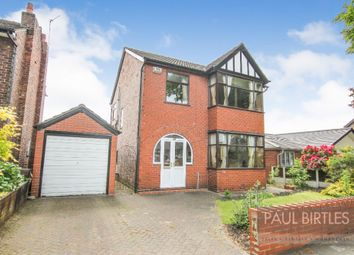 Thumbnail 3 bed detached house for sale in Moorside Road, Flixton