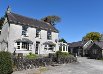 Thumbnail 6 bed farm for sale in Crugybar, Llanwrda