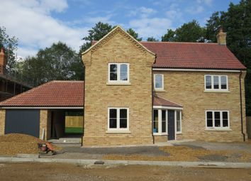 Thumbnail 4 bed detached house for sale in Westgate Street, Plot 5, Shouldham, King's Lynn