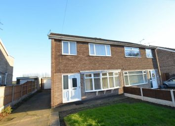 Thumbnail 3 bed semi-detached house for sale in Queenswood Road, Bottesford, Scunthorpe
