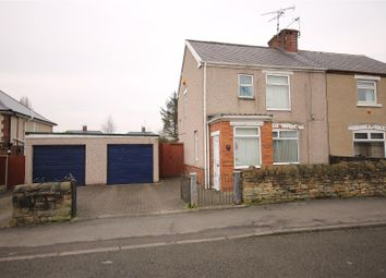 Thumbnail 3 bed semi-detached house for sale in Barker Lane, Brampton, Chesterfield