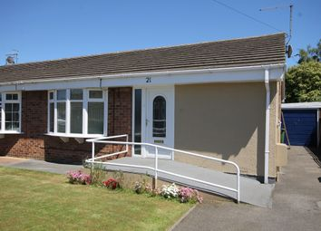 Thumbnail 3 bed semi-detached bungalow for sale in Grimston Road, Hunmanby