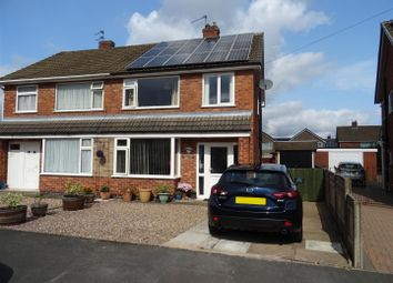 Thumbnail 3 bed semi-detached house for sale in Perran Avenue, Whitwick, Leicestershire