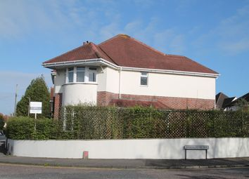 Thumbnail 4 bed detached house for sale in Woodside Road, Parkstone, Poole