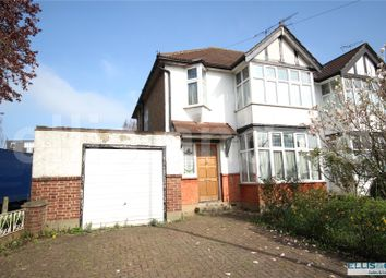 Thumbnail 3 bed end terrace house for sale in Bunns Lane, Mill Hill, London