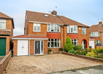 Thumbnail 4 bed semi-detached house for sale in Florence Grove, Rawcliffe, York