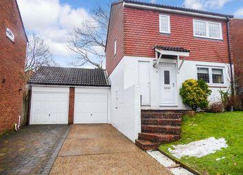 3 bed link-detached house for sale in Hurst Hill, Walderslade Woods, Chatham, Kent ME5