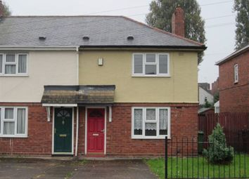 Thumbnail 2 bedroom property to rent in Burton Road, Wolverhampton