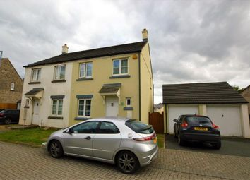 Thumbnail 3 bed semi-detached house to rent in Harebell Close, Pillmere, Saltash, Cornwall