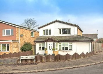 Thumbnail 4 bedroom detached house for sale in Fellows Close, Wollaston, Wellingborough, Northamptonshire