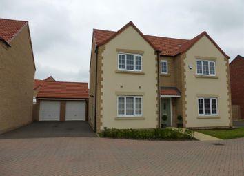 Thumbnail 4 bedroom detached house for sale in Magnus Close, Cardea, Peterborough