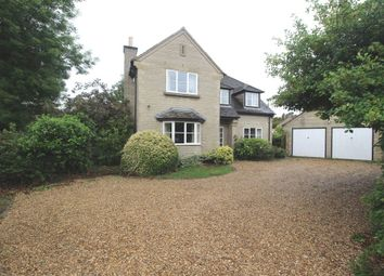 Thumbnail 4 bed detached house to rent in The Paddocks, Swayfield, Grantham