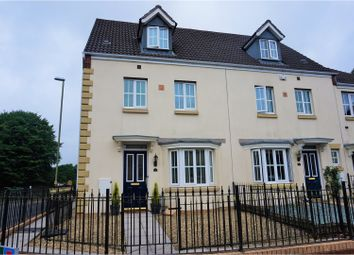 Thumbnail 4 bed end terrace house for sale in Crumlin, Newport