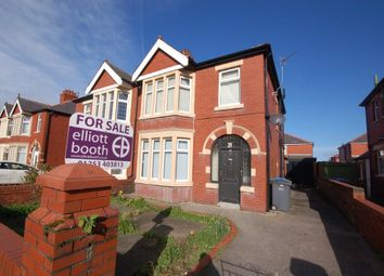 Thumbnail 3 bed semi-detached house for sale in St. Martins Road, Blackpool
