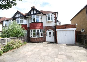 Thumbnail 3 bed semi-detached house to rent in Woodlands Avenue, Worcester Park, Surrey