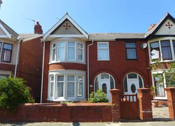 Thumbnail 3 bed semi-detached house for sale in Cornwall Avenue, Bispham, Blackpool