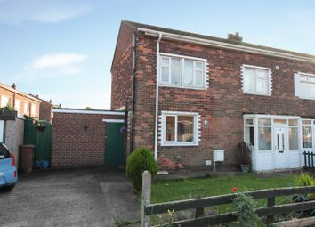 Thumbnail 3 bed terraced house for sale in Crowland Avenue, Scunthorpe, Lincolnshire