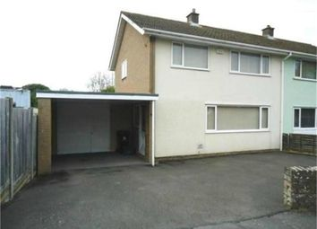 Thumbnail 3 bed semi-detached house to rent in Ormerod Road, Sedbury, Chepstow