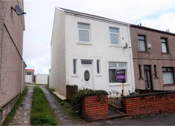 Thumbnail 3 bed end terrace house for sale in Middle Road, Cwmdu