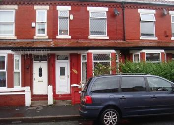 Thumbnail 3 bed property to rent in Ruskin Avenue, Rusholme, Manchester