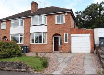 Thumbnail 3 bed semi-detached house for sale in Senneleys Park Road, Birmingham