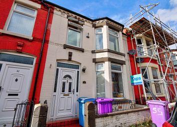 Portman Road, Wavertree, Liverpool L15. 3 bed terraced house