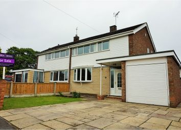 Thumbnail 3 bed semi-detached house for sale in Redland Crescent, Doncaster
