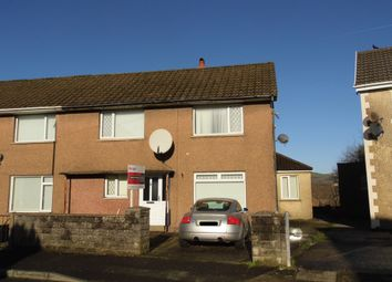 Thumbnail 4 bed terraced house to rent in Williams Crescent, Bryncethin