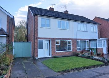 Thumbnail 3 bed semi-detached house for sale in Forrester Close, Leicester