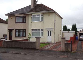 Thumbnail 2 bed semi-detached house to rent in Sugworth Avenue, Baillieston, Glasgow