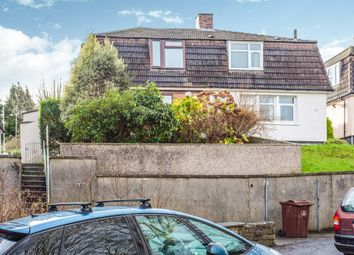 Thumbnail 3 bedroom semi-detached house for sale in Kit Hill Crescent, Plymouth
