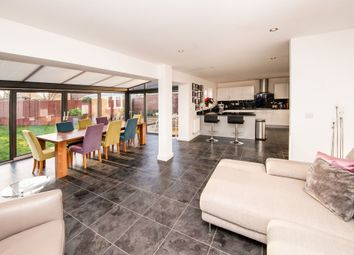 Thumbnail 4 bed detached house for sale in Sherbourne Drive, Old Sarum, Salisbury