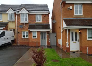 Thumbnail 2 bed semi-detached house for sale in Saddlers Close, Halesowen