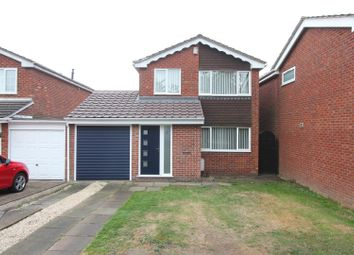 Thumbnail 3 bed detached house for sale in Farndon Drive, Stoney Stanton, Leicester