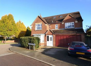 Thumbnail 6 bed detached house for sale in Thornton Close, Crick, Northampton