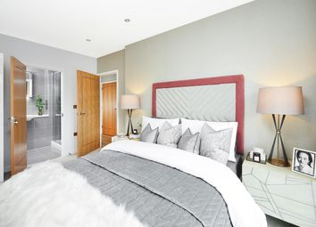 Thumbnail 2 bed flat for sale in Centric Close, Oval Road, London