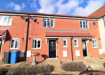 Thumbnail 2 bed terraced house for sale in Mary Clarke Close, Hadleigh, Ipswich, Suffolk