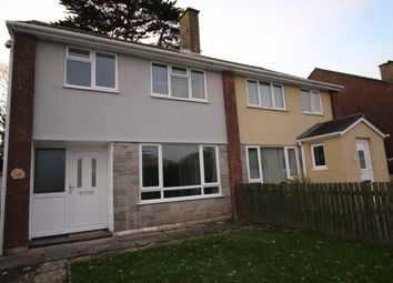 Thumbnail 3 bed semi-detached house to rent in Meadow Drive, Par