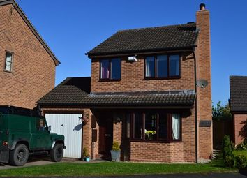 Thumbnail 3 bed detached house for sale in Parker Bowles Drive, Market Drayton