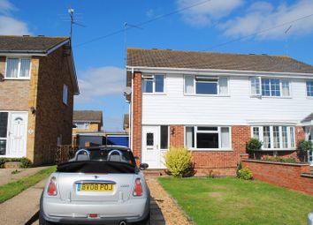 Thumbnail 3 bed semi-detached house to rent in Byron Crescent, Rushden