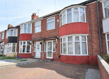 Thumbnail 3 bedroom terraced house to rent in Westfield Road, Hull