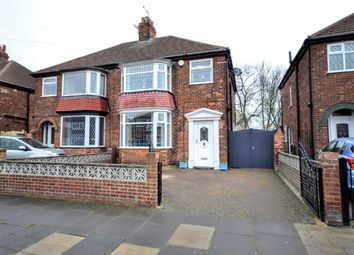 Thumbnail 3 bedroom semi-detached house for sale in Queen Mary Avenue, Cleethorpes