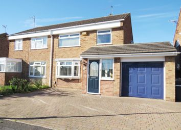 Thumbnail 3 bed semi-detached house for sale in Tulla Close, Stenson Fields, Derby
