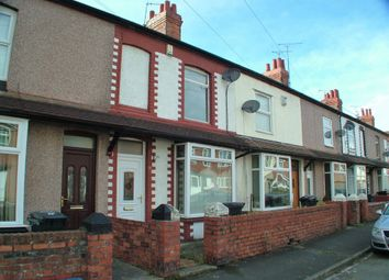 Thumbnail 3 bed terraced house for sale in Queens Avenue, Sandycroft, Deeside