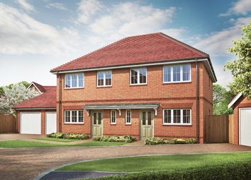 Thumbnail 3 bed semi-detached house for sale in The Milford, Ellsworth Park, Foreman Road, Ash, Surrey
