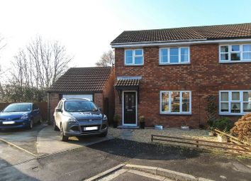 Thumbnail 3 bed semi-detached house for sale in Baker Close, Clevedon