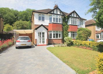 Thumbnail 3 bed semi-detached house to rent in Chaldon Way, Coulsdon